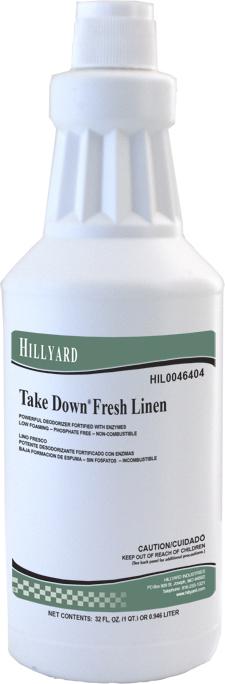 Take Down® Fresh Linen