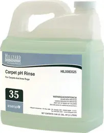 Carpet pH Rinse