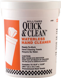Quick & Clean® Waterless Hand Cleaner