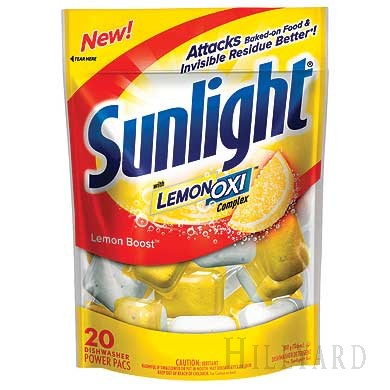sunlight machine dishwashing powder
