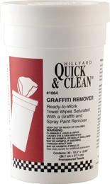 Hillyard Wipe Q&C Graffiti Remover 30Ct