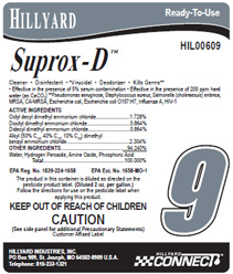 Hillyard Hil0060900 Suprox D 174
