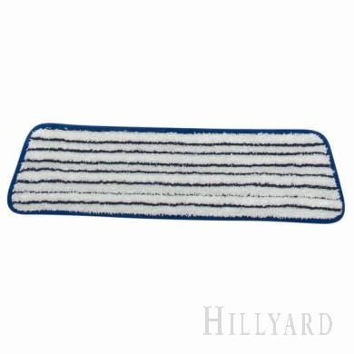 18in. Microfiber Finish Mop/Pad - Blue & White