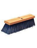 """24"""" Heavy Polypropylene Sweep 24"""" - Blue, 6/cs"""