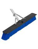 Floor Broom 24in. Complete w/ Squeegee Blade 6/CS