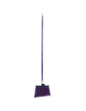 "Duo-Sweep® Angle Broom Flagged Bristle 56"" Long - Purple"