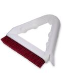 "Tile & Grout Brush With Polyester Bristles 9"" - Red 12/cs"