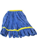 Large Looped End Tube Mop - Blue