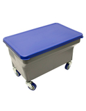 Finish Bucket w/ Lid, Casters and Removable Press