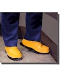 Stripping Boots Large Size 9.5 - 11 - Yellow