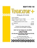 Label Ready to use #168 VINDICATOR+