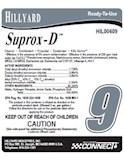 RTU Label 609 CONNECT SUPROX-D