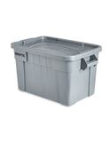 BRUTE® 20 Gal Tote with Lid, Gray